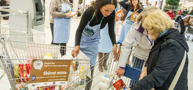 Rok 2014: Jak se vybralo 173 tun jídla kraj po kraji