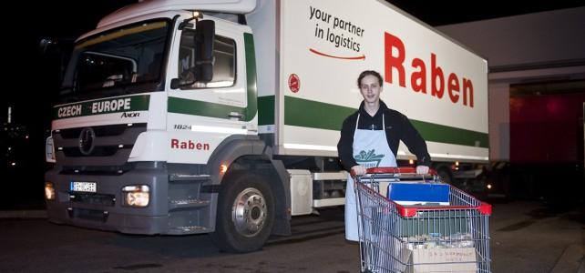 2 193 kilometrů! V Raben Logistics spočítali, jak přepravovali dary z potravinové sbírky