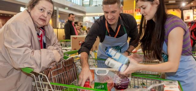 Globus už ví, jak mnoho přidal do Národní potravinové sbírky: 28,3 tuny