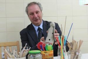 Martin Pražák, ředitel ostravské charity, která je součástí Diecézní charity ostravsko-opavské. Foto: Ivana Gračková