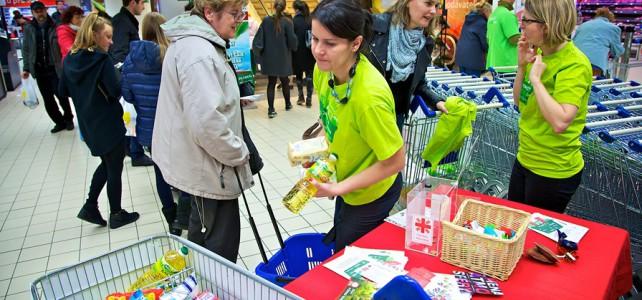 Sbírka potravin na Slovensku byla rekordní, lidé darovali 77 tun jídla