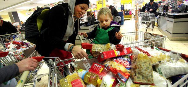 Lidé v rámci Národní potravinové sbírky darovali více než 300 tun potravin