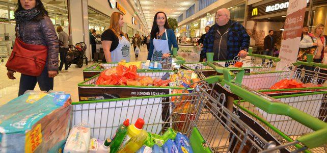Řetězce zapojené do Národní potravinové sbírky hlásí rekordní účast