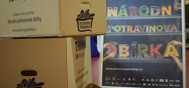 Krabice pro Národní potravinovou sbírku