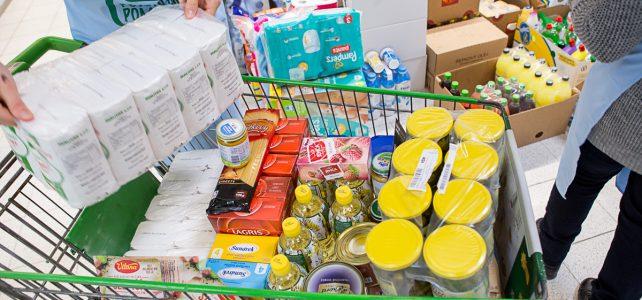 V Národní potravinové sbírce se vybralo rekordních 926 000 porcí jídla